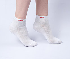 """Женские носки """"Sport"""", белые, короткие"""