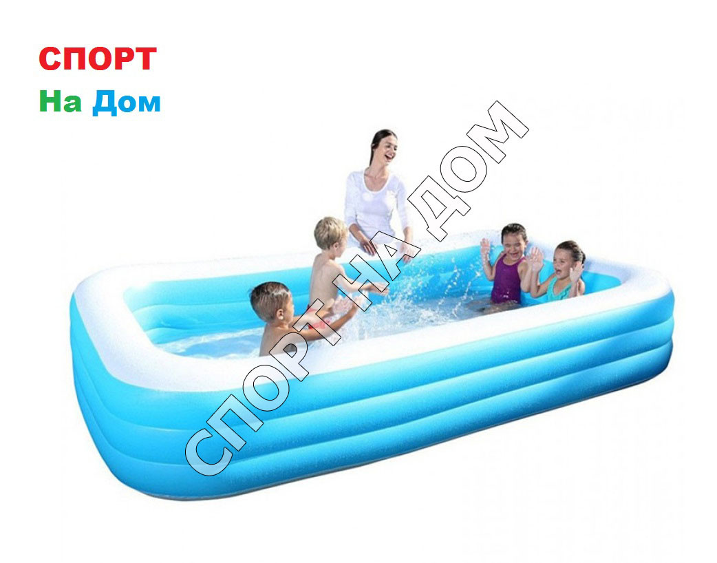 Надувной бассейн BestWay 54009 (Габариты: 305х183х56см )