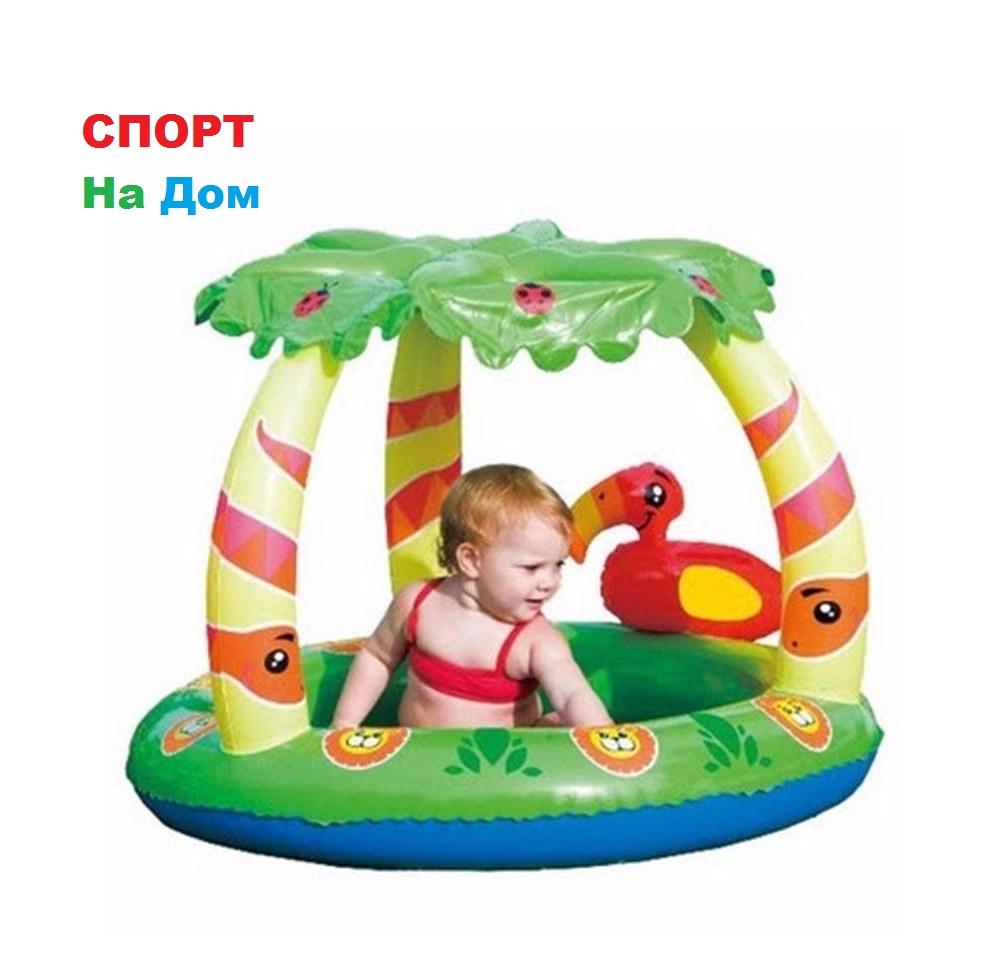 """Бассейн детский с навесом """"Джунгли"""" Bestwey 52179"""