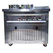 Фризер для ролл мороженого KCB-1Y Foodatlas (контейнеры, световой короб, стол для топпингов)