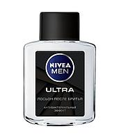 Nivea Men Ultra (лосьон после бритья) (антибактериальный) 100 мл
