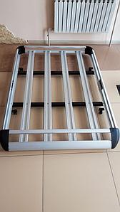 Корзина багажная алюминиевая 140х100