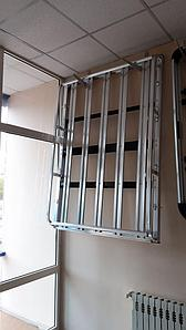 Корзина багажная алюминиевая 180х130 на водосток