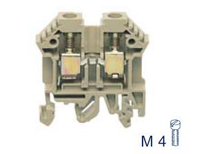 RK 6-10 BG Проходная клемма, Винтовое соединение, 10 mm², 800 V, 57 A, Conta Clip