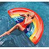 Огромный надувной матрас Радуга, плот для взрослых, пляжный матрас, фото 3