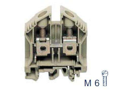 RK 35 BG Проходная клемма, Винтовое соединение, 35 mm², 800 V, 125 A, Conta Clip, фото 2