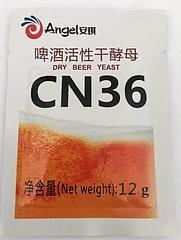 Пивные дрожжи Ангел CN36, 12 грамм
