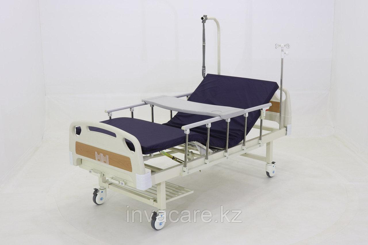 Кровать механическая Е-8 (ММ-2014Н-00) (2 функц) с полкой и столиком
