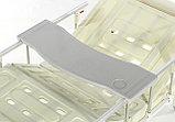 Медицинская кровать Med-Mos Е-8 MM-18ПЛН (2 функции) с полкой и столиком, фото 6