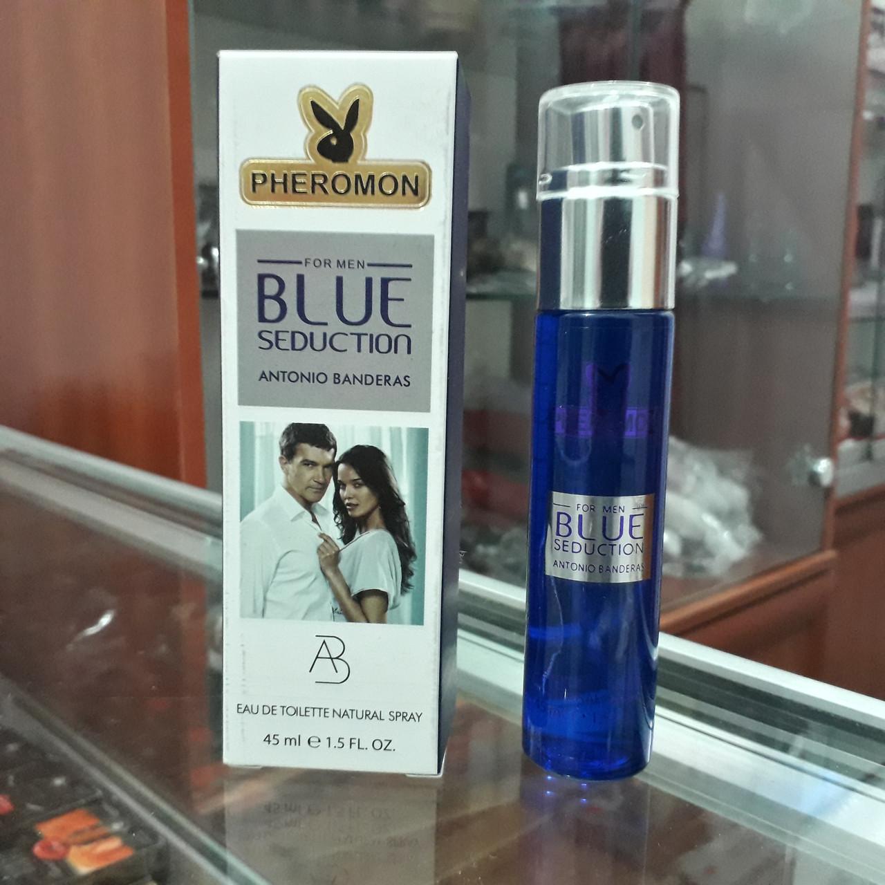 Мужские духи с феромонами Antonio Banderas Blue Seduction, 45ml.