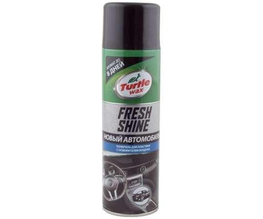 """Turtle wax Полироль для пластика с освежителем воздуха """"Fresh Shine  с ароматом новой машины"""