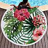 """Покрывало для отдыха """"Тропические цветы"""", микрофибра (пляжный коврик полотенце), фото 5"""