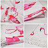 """Коврик для пляжа и отдыха """"Розовый фламинго"""" (пляжный коврик полотенце), фото 4"""