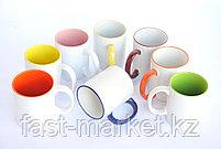 Кружки цветные под нанесение в коробочке