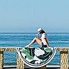 """Коврик для пляжа и отдыха """"Тропики"""" (пляжный коврик полотенце), фото 4"""