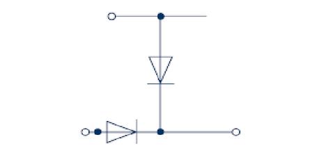 RKD 4/D5 BG Двухуровневая клемма с диодом, Винтовое соединение, 4 mm², 400 V, 10 A, Conta Clip, фото 2