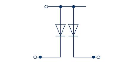RKD 4/D3 BG Двухуровневая клемма с диодом, Винтовое соединение, 4 mm², 400 V, 10 A, Conta Clip, фото 2