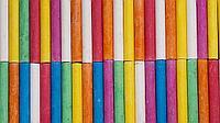 Цветные мелки для асфальта разных видов, в картонной и пластиковой упаковке.