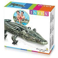 Надувной плот Крокодил Intex 57551NP