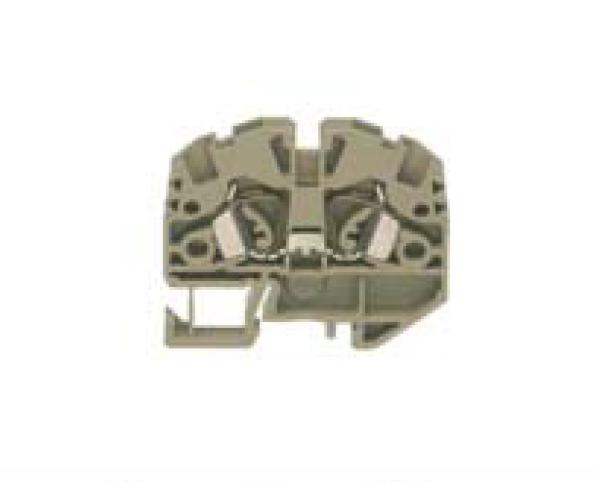 ZSRK 2,5/2A/15 BG Проходная клемма, Натяжная пружина, 2,5 mm², 800 V, 24 A, Conta Clip