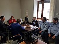 Встреча представителями швейцарской делегации