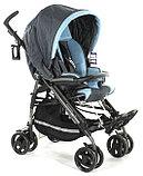 Кресло-коляска PLIKO (черно-голубой), фото 2