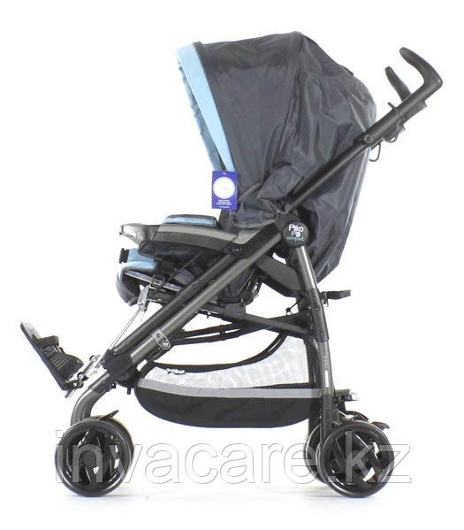 Кресло-коляска PLIKO (черно-голубой)