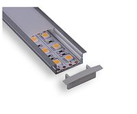 Алюминиевый профиль 30x10мм для ленты C005