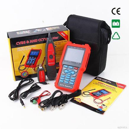 Цифровой тестер систем видеонаблюдения  NF-706 (Видео, LAN тестер, трассоискатель, WIREMAP, мультиметр), фото 2