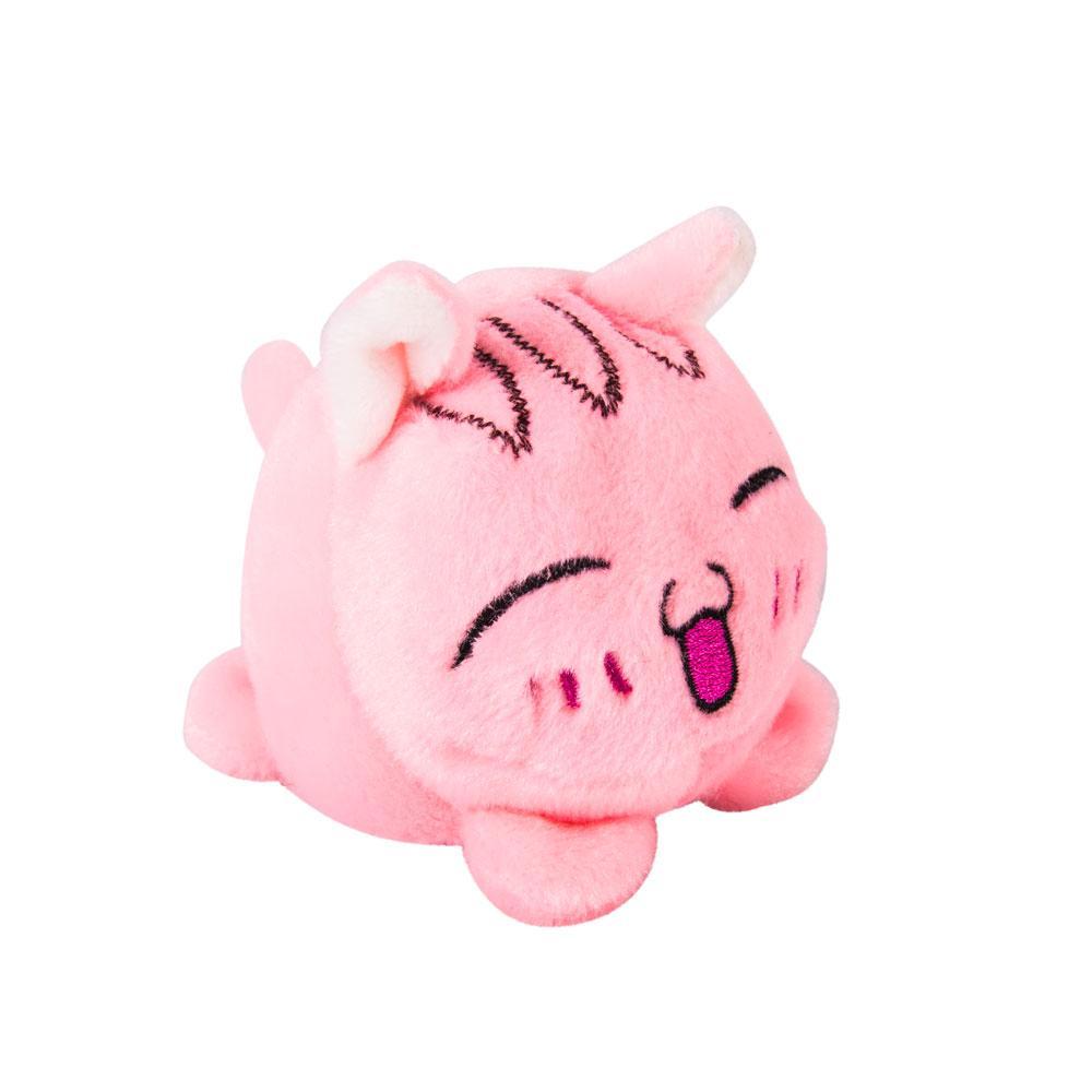 Мягкая игрушка Мячик - Кот розовый, 7 см.