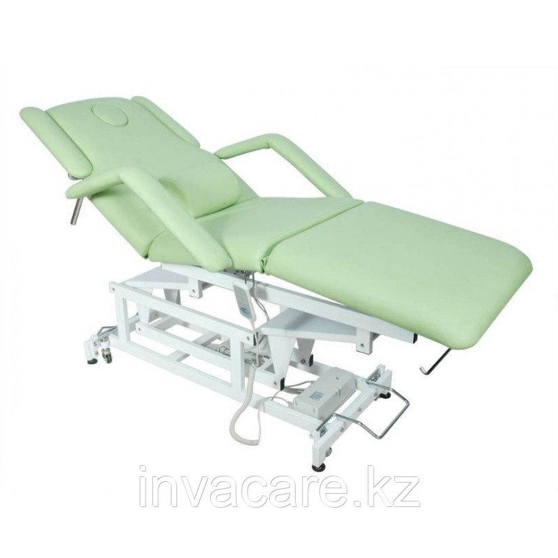 Кровать (стол массажный) медицинская функциональная с электрическим приводом DB-9 (КО-07)