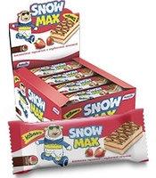 """Бисквитное пирожное """"Snow Max"""" с клубничной начинкой"""