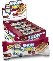 """Бисквитное пирожное """"Snow Max"""" с вишневой начинкой"""