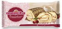 """Бисквитный рулет """"Mamita"""" с вишневой начинкой"""
