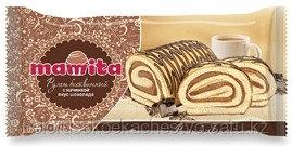 """Бисквитный рулет """"Mamita"""" с шоколадной начинкой"""
