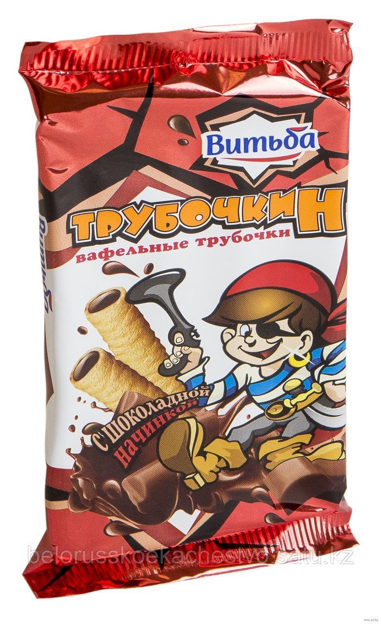 Вафельные трубочки Трубочкин с шоколадной начинкой
