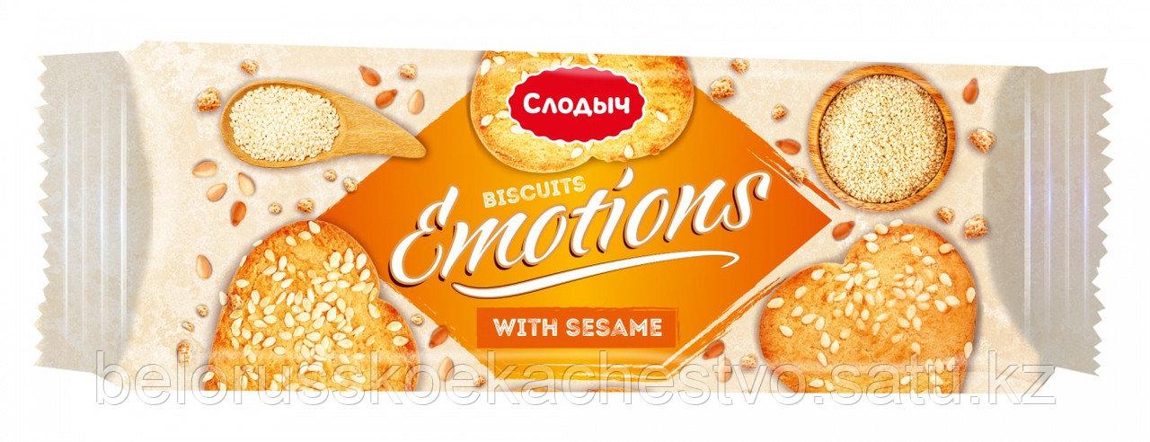 """Печенье сдобное """"Emotions"""" с кунжутом"""", 150 г."""