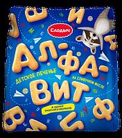 Печенье детское на сливочном масле Алфавит, 125 г ШОУ-БОКС