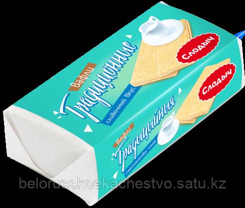 """Вафли """"Традиционные"""" сливочный вкус, 100 г"""