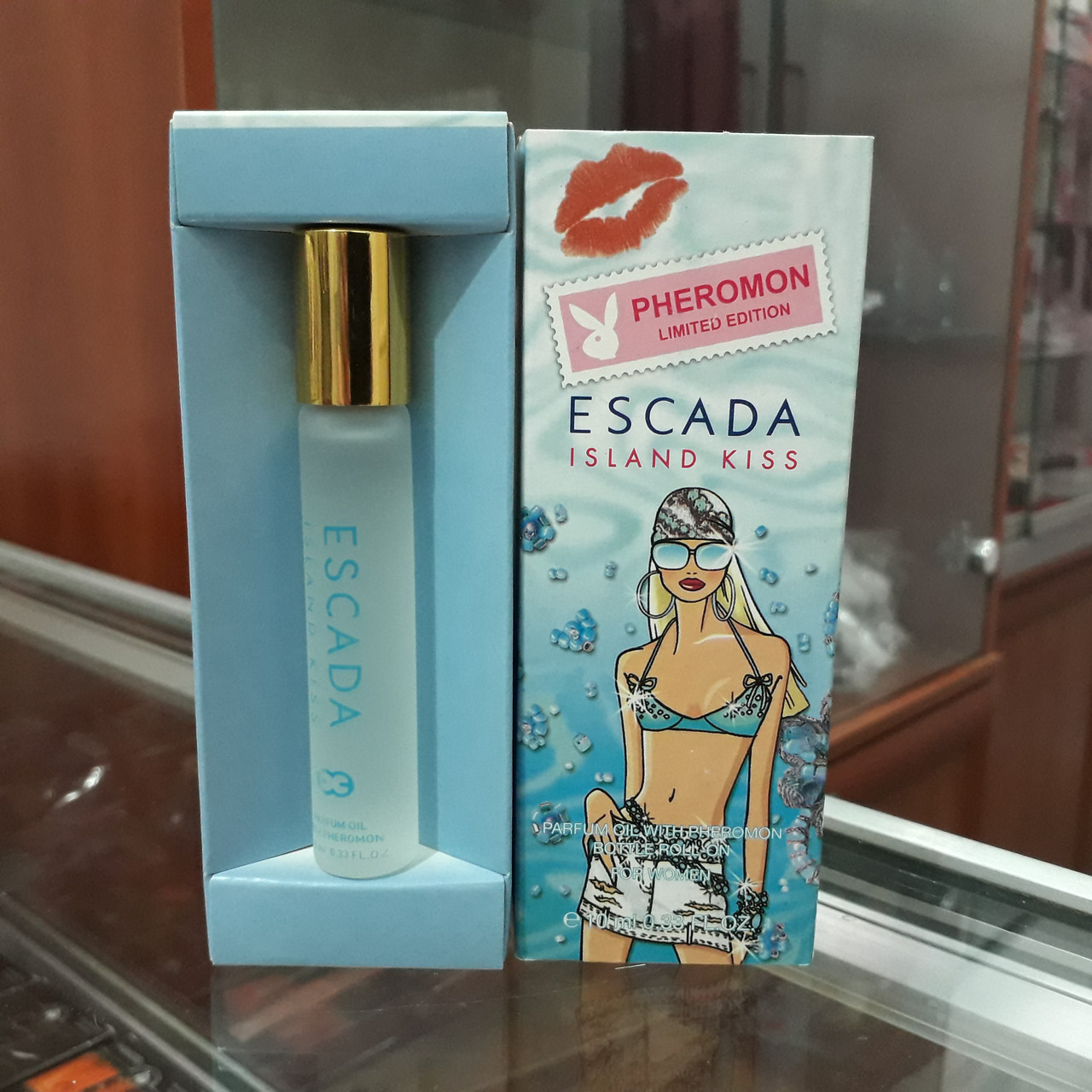 Духи с феромонами Escada Island Kiss, 10ml.