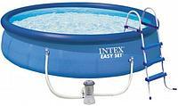 Надувной бассейн круглый Intex Easy Set 26166NP 457*107 см