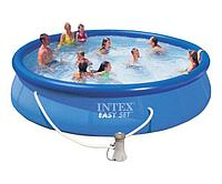 Надувной бассейн круглый Intex Easy Set 28158NP 457*84 см