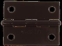 Петля дверная разъемная, 75х75х2.4, левая, коричневый, серия MASTER, STAYER