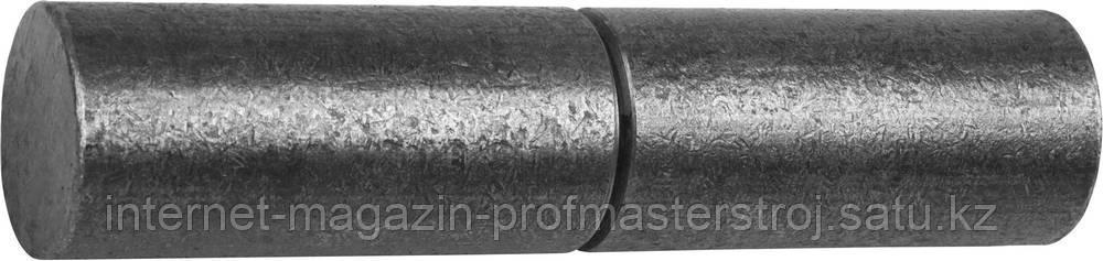 Петля для металлических дверей цилиндрической формы 30х140мм СИБИН