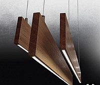 Дизайнерский светильник  дерево Дуб, Орех, Ясень.