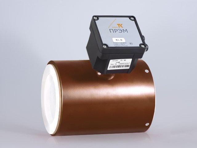 Преобразователь расхода электромагнитный ПРЭМ, Dy 150 мм, Qmin 4,2 м3/ч
