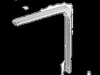Уголок-кронштейн, 250 х 300 х 30, нагрузка 40 кг, белый, STAYER