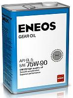 Трансмиссионное масло для МКПП ENEOS GEAR GL-5 75W90 4л