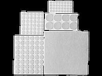 Набор самоклеящихся накладок на мебельные ножки 125 шт, коричневые, STAYER