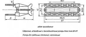 Блок испытательный модернизированный БИ-6М для заднего присоединения, фото 2